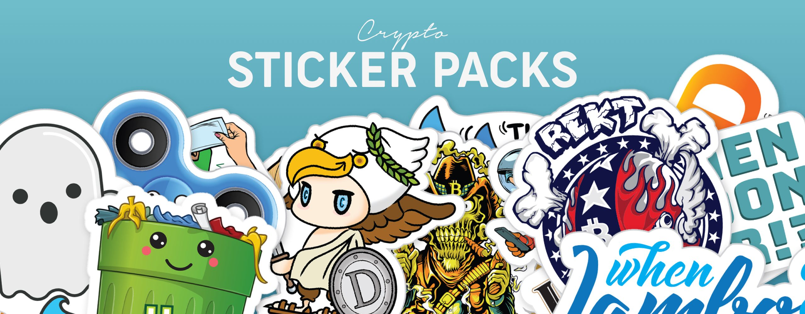 CRYPTO STICKER PACKS